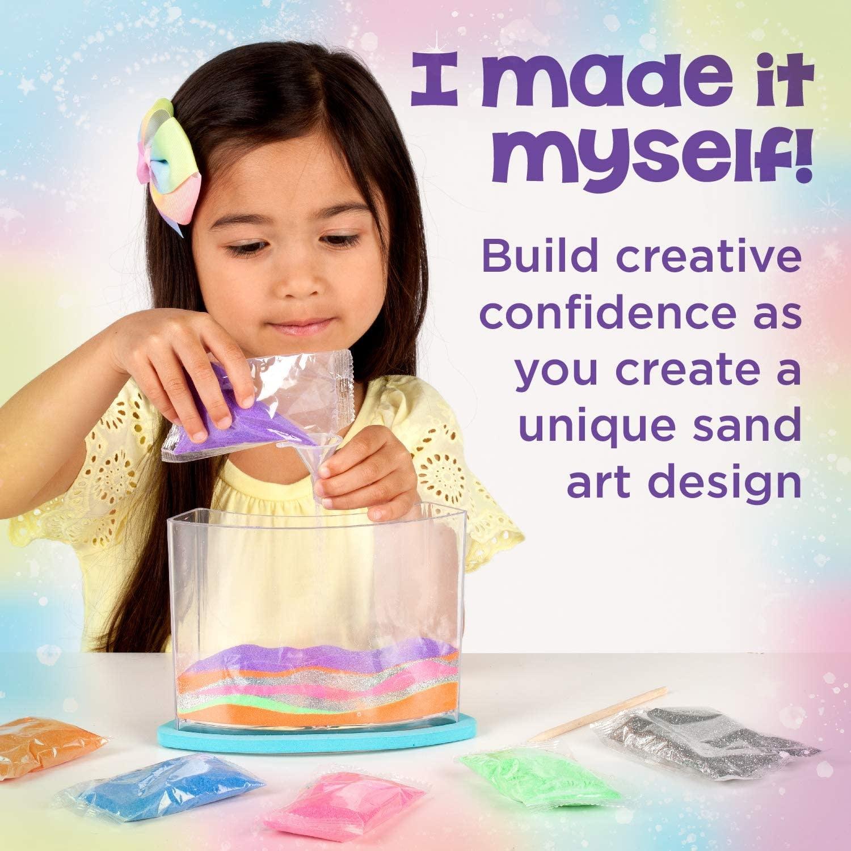 Creativity For Kids Creativity for Kids Rainbow Sandland - Make Your Own Sensory Sand Art for Kids