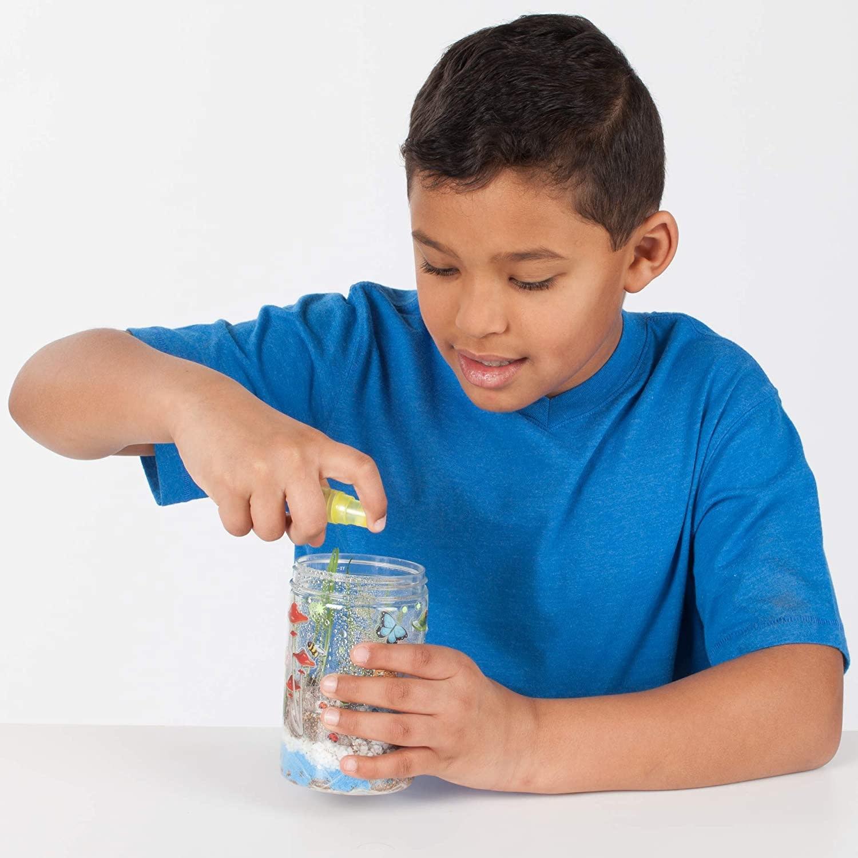 Creativity For Kids Grow 'N Glow Terrarium Kit for Kids - Science Activities for Kids