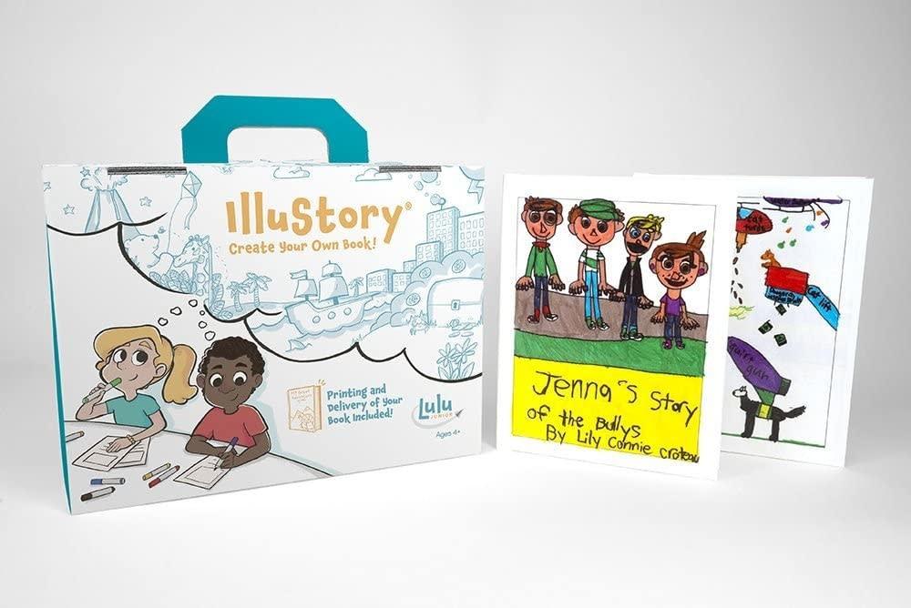 Lulu Lulu Jr. Illustory Book Making Kit, Multicolor