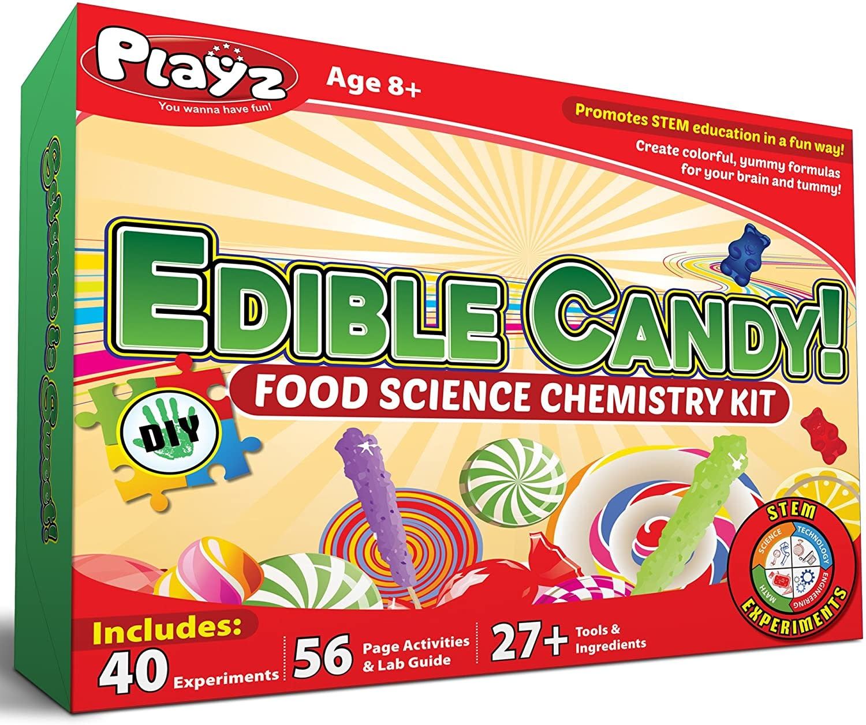 Playz Edible Candy! Food Science STEM Chemistry Kit