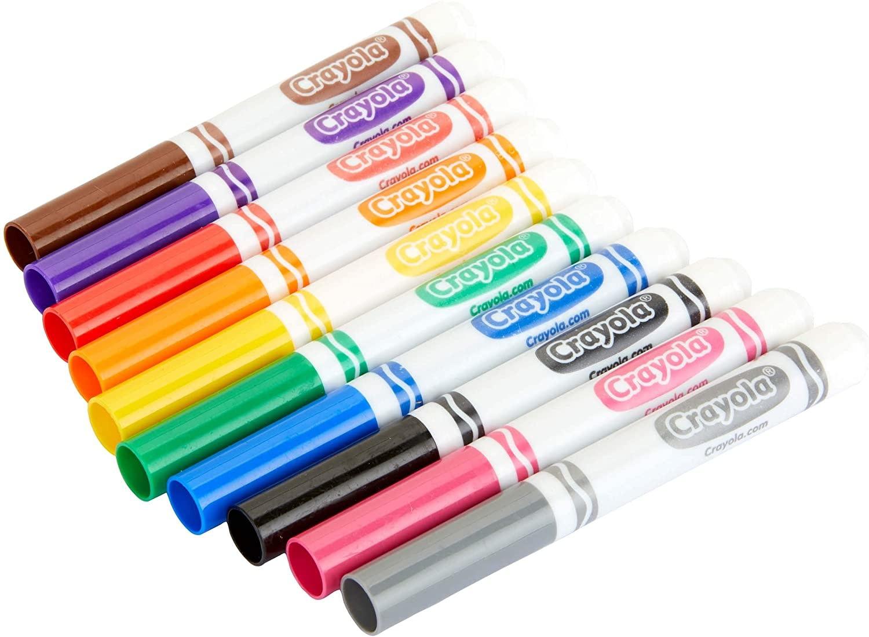 Crayola Broad Line Markers - 10 Color
