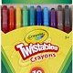 Crayola Crayola Twistables Crayons Coloring Set, Twist Up Crayons for Kids, 10 Count
