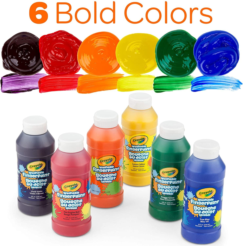 Crayola Crayola Washable Finger Paint - (ONE 80z Bottle)