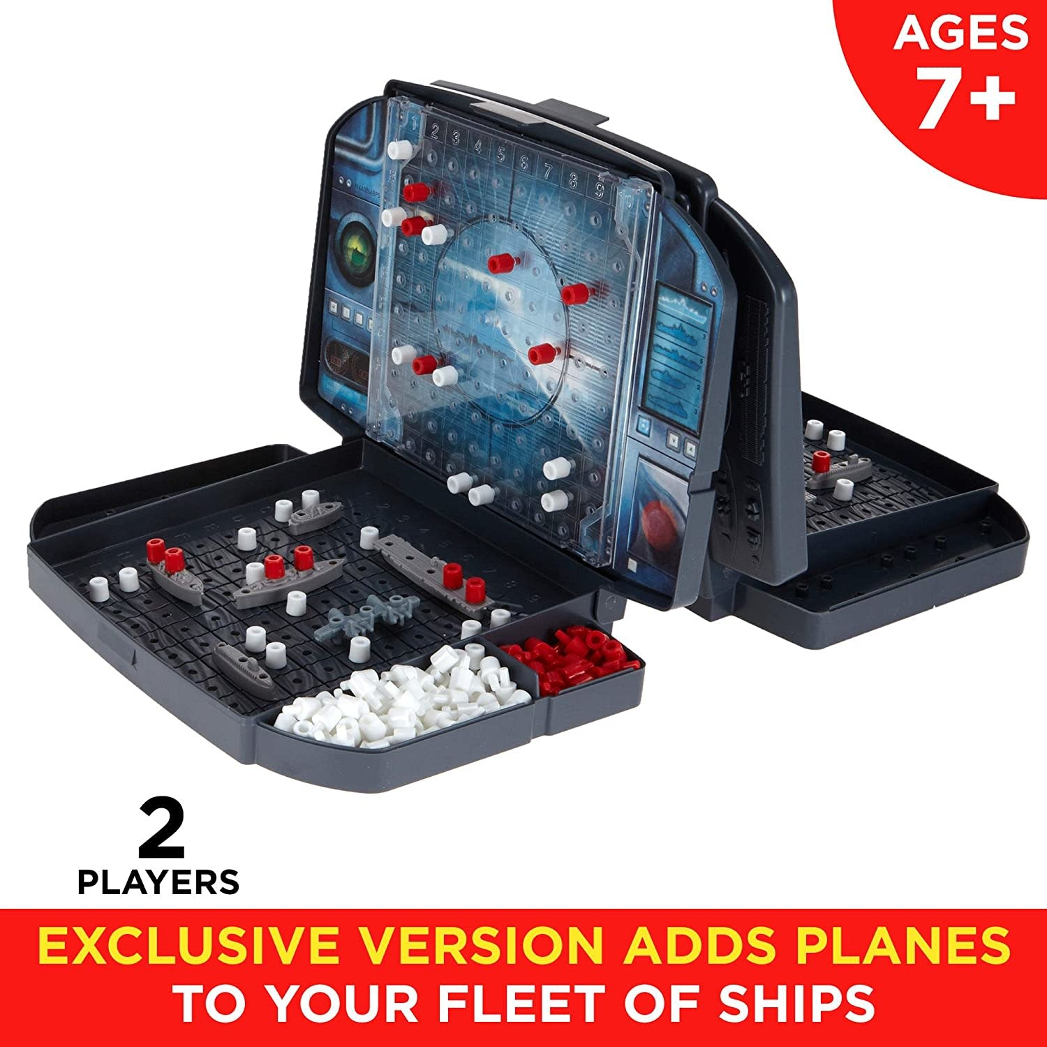 Hasbro Battleship With Planes Strategy Board Game
