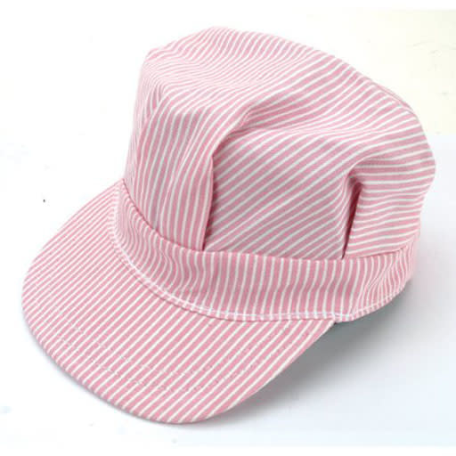 HAT ENGINEER TODDLER PINK