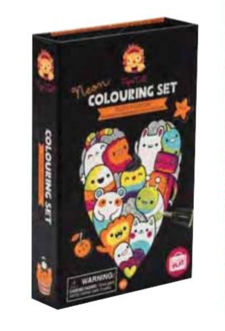 Schylling Glow Friends - Neon Color Set