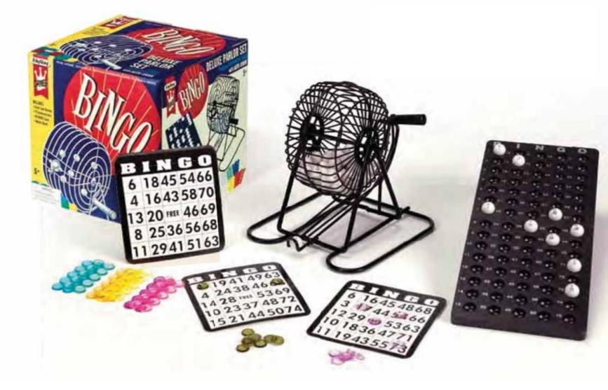 Schylling Bingo Game