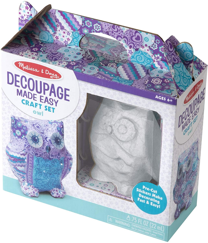 Melissa & Doug Decoupage Made Easy - Owl
