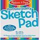 "Melissa & Doug Sketch Pad (9""x12"")"