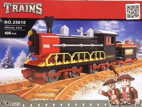 Ausini Building Block Steam Loco 406p