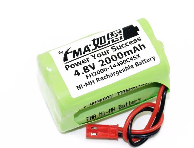 Double Eagle R/C 4.8v Ni-Mh Rechargable Battery