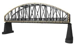 #40-1117, O Steel Arch Bridge w/Operating White Lights