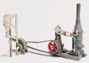 Woodland Scenics Steam Engine & Hammer Mill