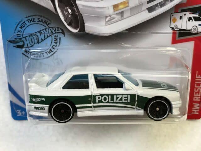 Hot Wheels 207/250  POLIZEI '92 BMW M3