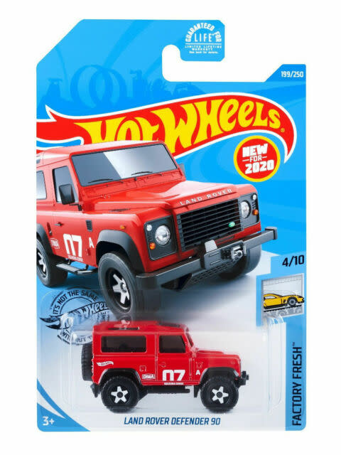 Hot Wheels 199/250  Land Rover Defender 90