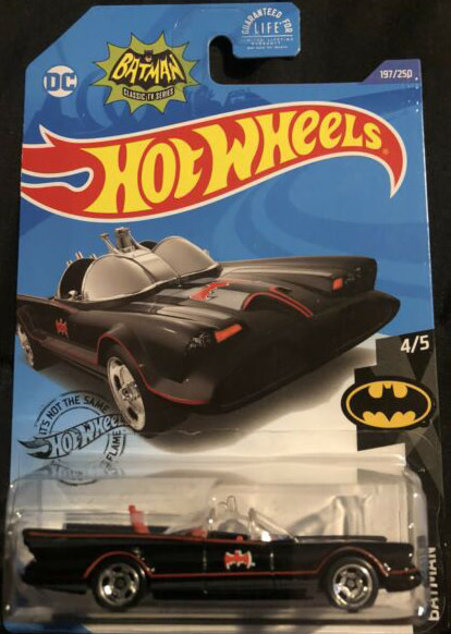 Hot Wheels 197/250  Batman - TV Series Batmobile