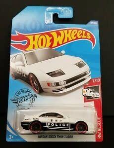 Hot Wheels 187/250  POLICE - Nissan 3002X Twin Turbo
