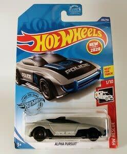 Hot Wheels 206/250  POLICE - Alpha Pursuit