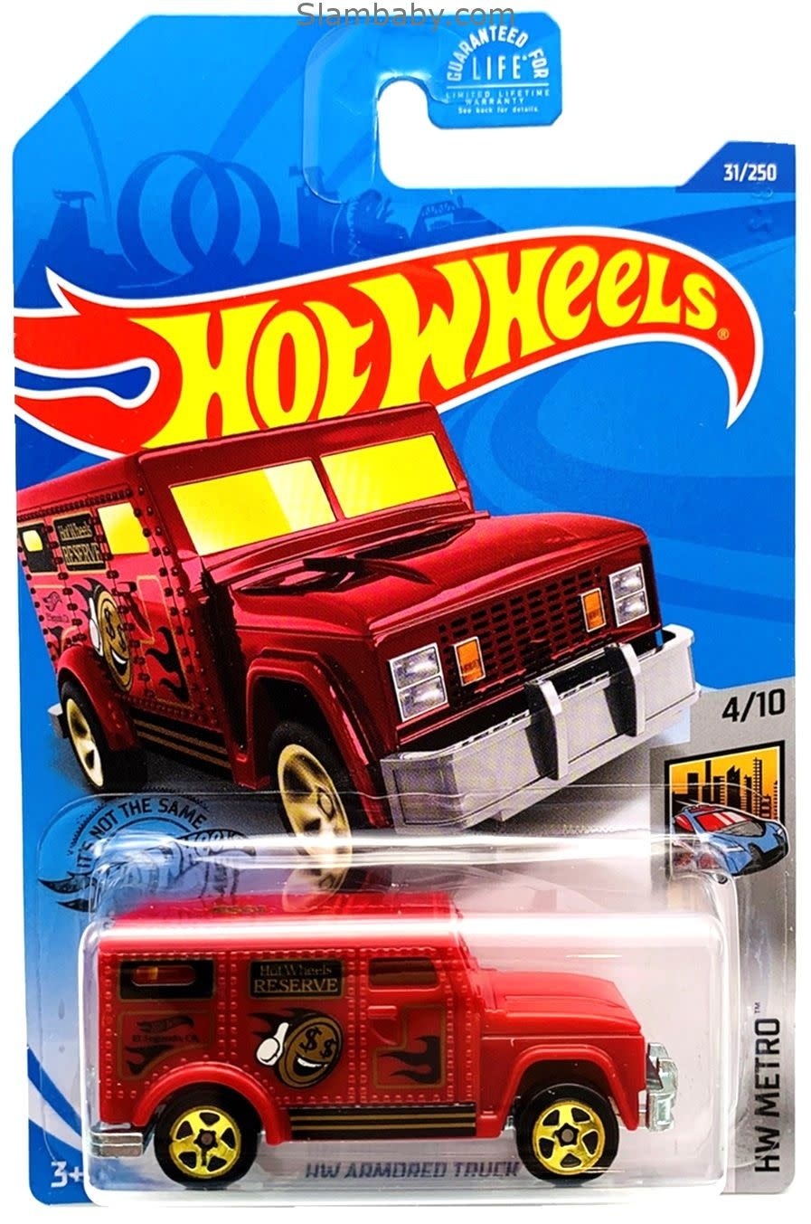 Hot Wheels 31/250  HW Armored Truck