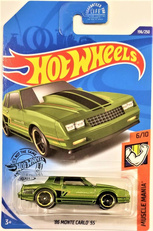 Hot Wheels 196/250  '86 Monte Carlo SS