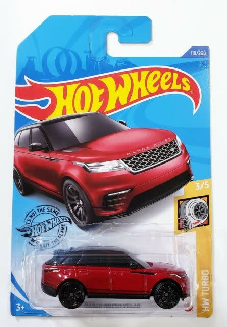 Hot Wheels 119/250  Range Rover
