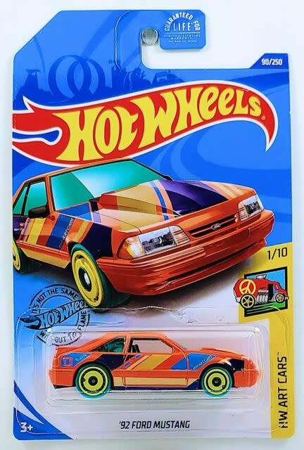 Hot Wheels 90/250  '92 Ford Mustang