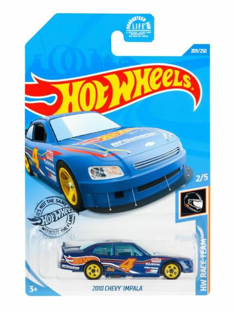 Hot Wheels 209/250 2010 Chevy Impala