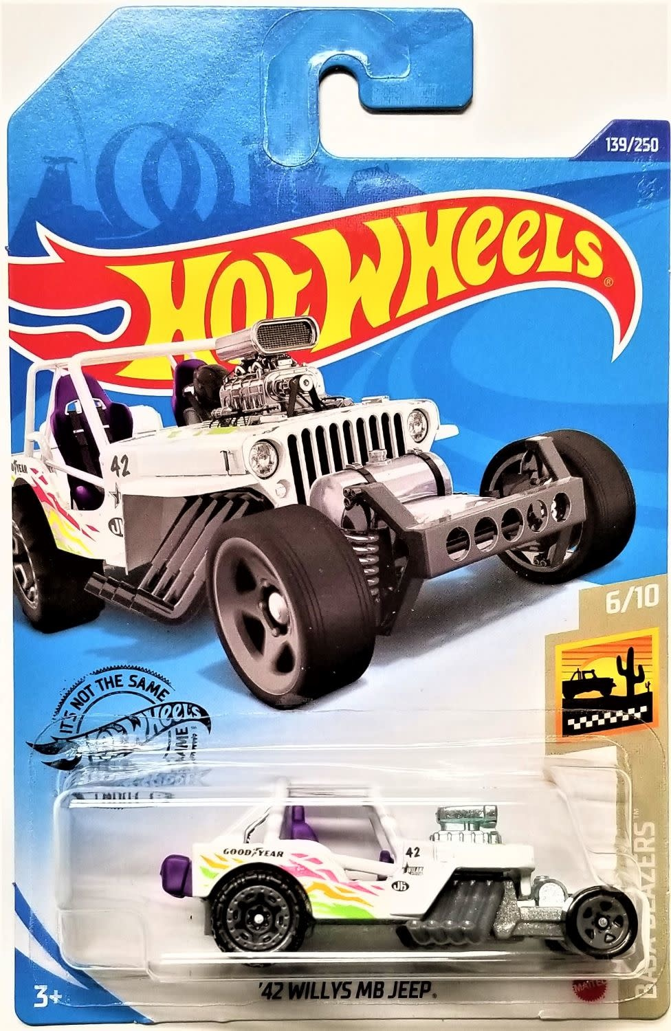 Hot Wheels 139/250 '42 Willys MB Jeep