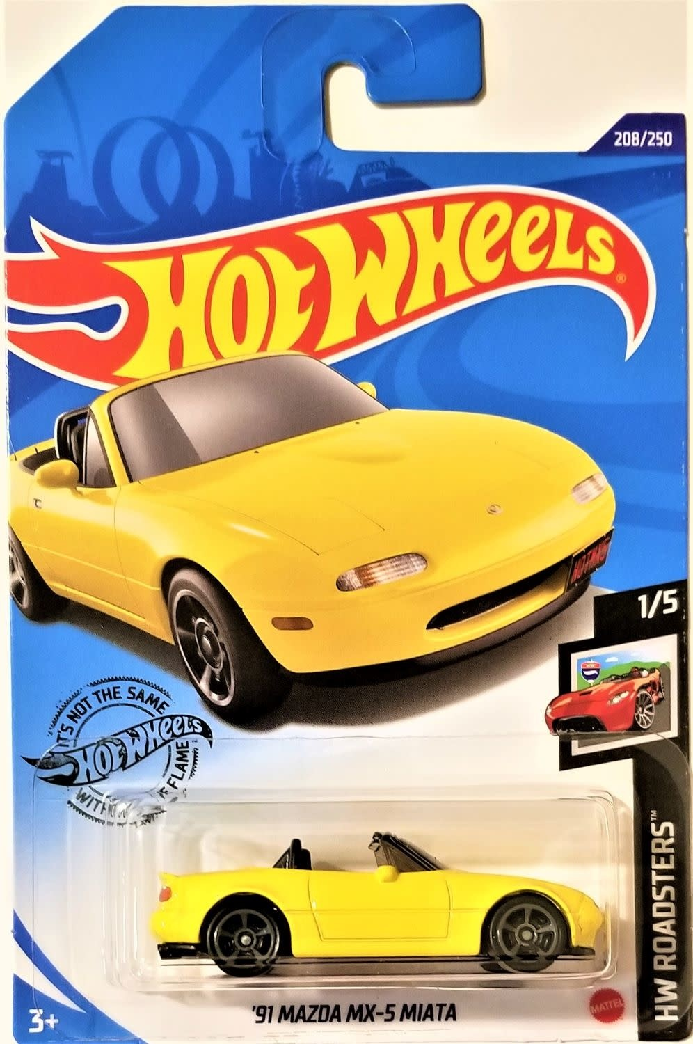 Hot Wheels 208/250   '91 Mazda MX-5 Miata