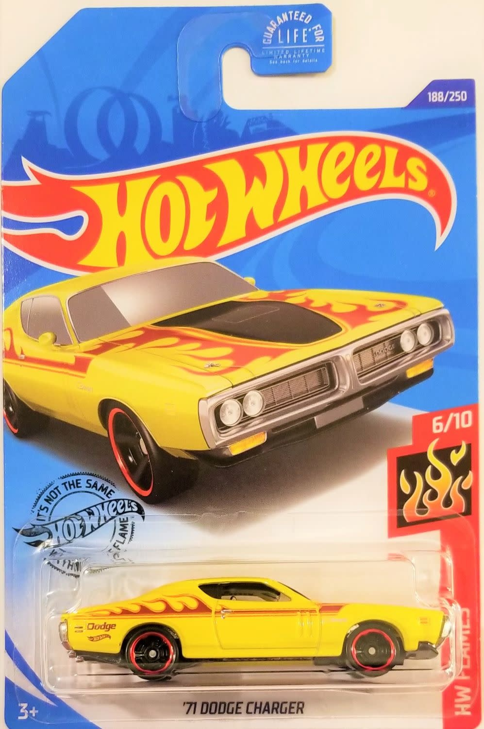 Hot Wheels 188/250   '71 Dodge Charger