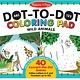 Melissa & Doug ABC - 123 Dot-to-Dot Coloring Pad - Wild Animals