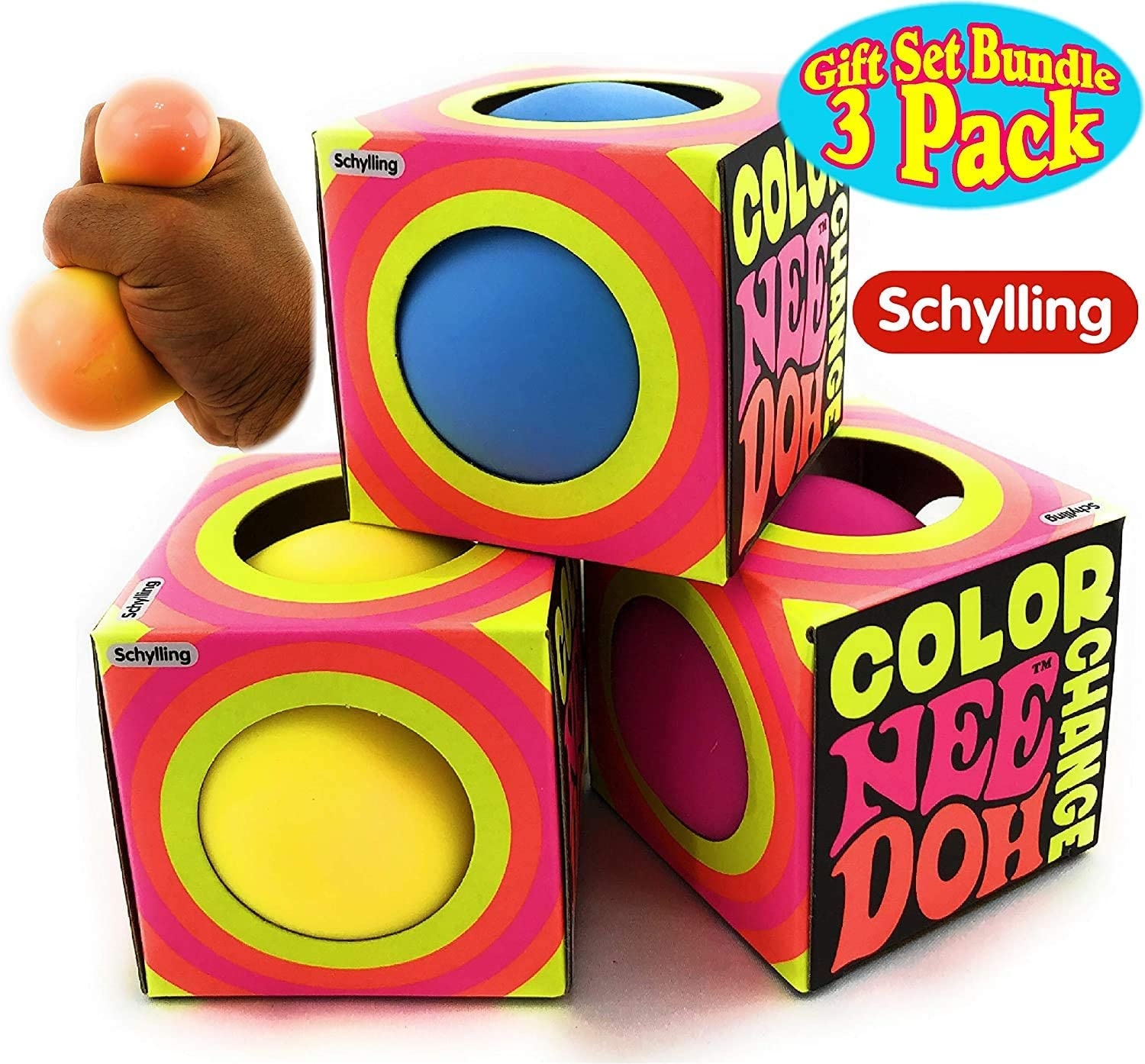 Schylling Color Changing Nee Doh  - DOHJEE