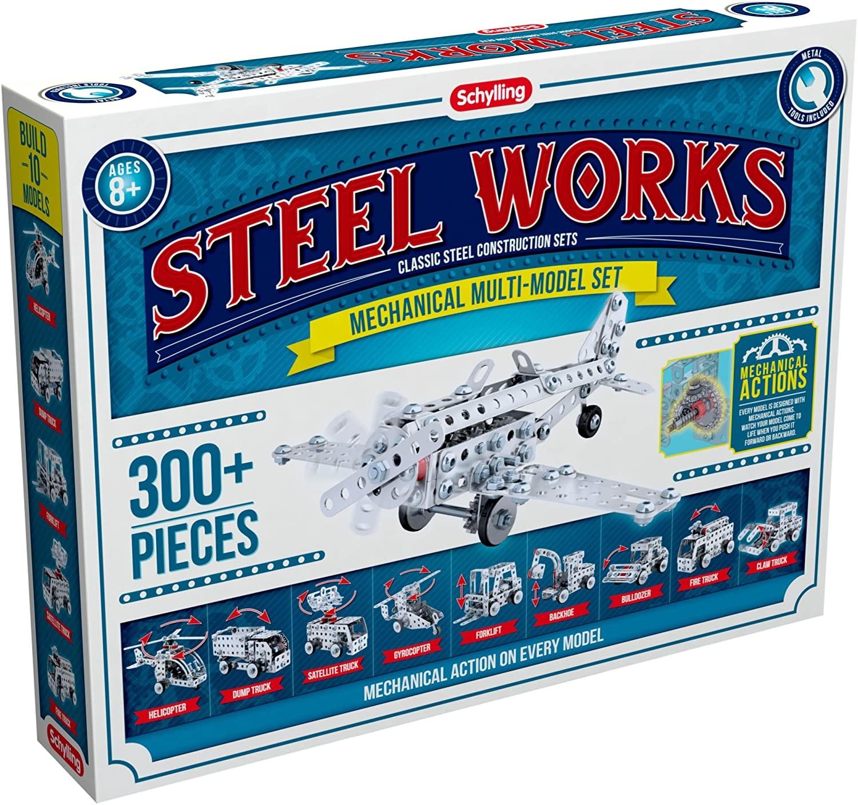 STEEL WORKS STEEL WORKS - Mechanical Multi-Model Set