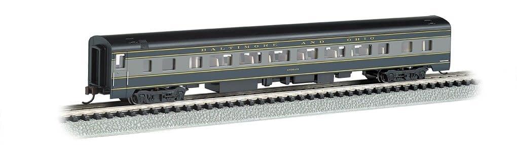 BAC 14253 85' Smooth-Side Coach w/Interior Lighting B&O N