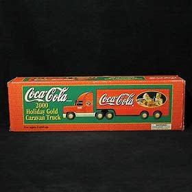 Coca-Cola 2000 Holiday Gold Caravan Truck