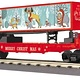 MTH - RailKing #30-76820, Christmas Flat Car with 40' Trailer