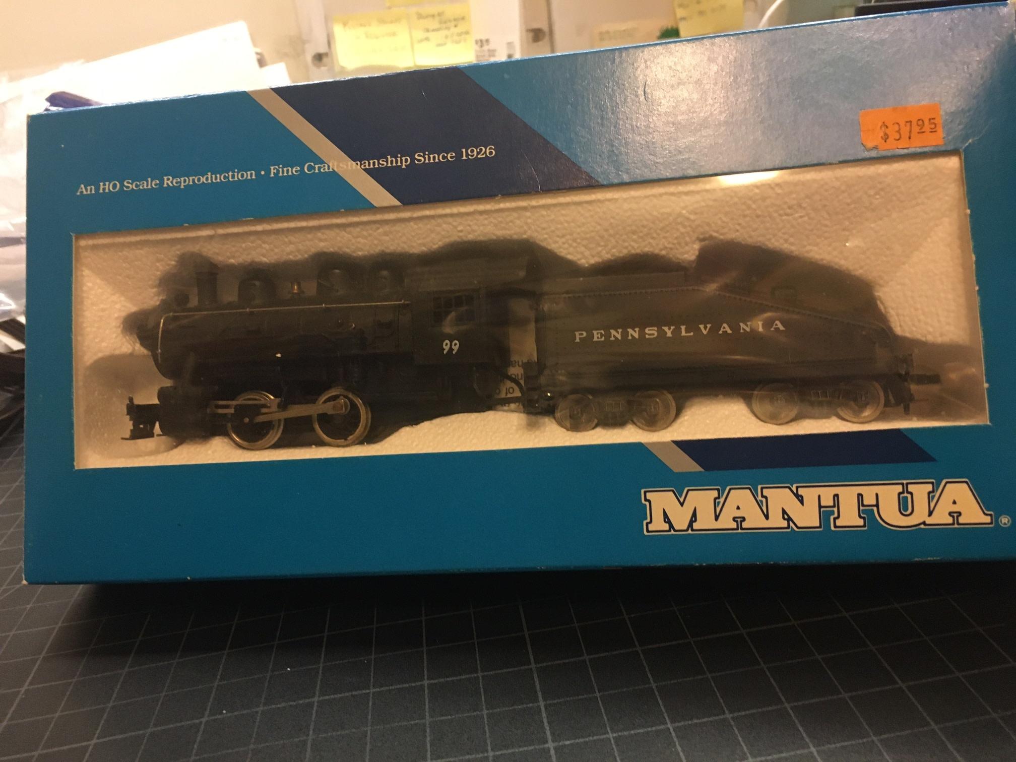 Mantua Mantua PRR Slope back shifter engine