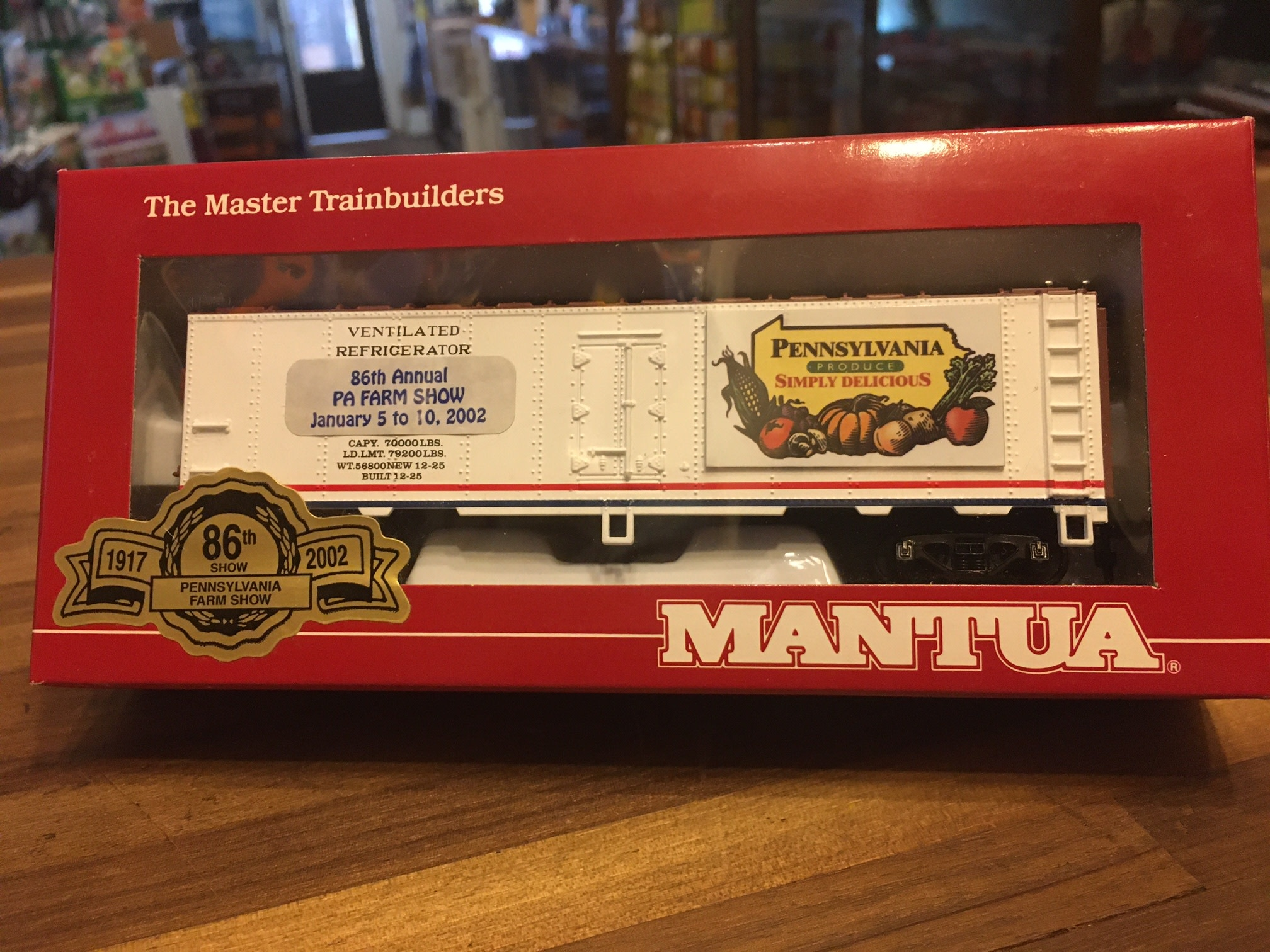 Mantua 733-301 Mantua PA Produce Steel Reefer