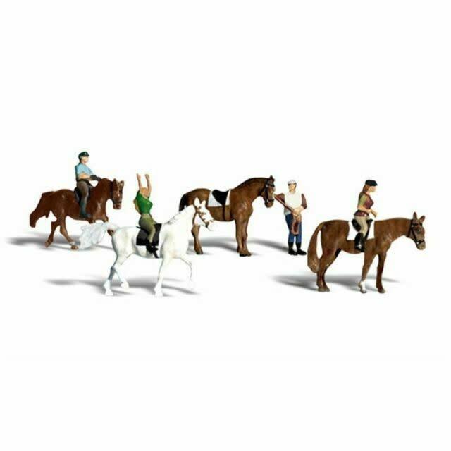 WOO A1889 Horseback Riders HO