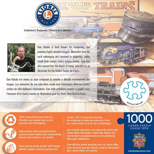 Lionel Collecgtors Treasurers 1000 Piece Puzzle