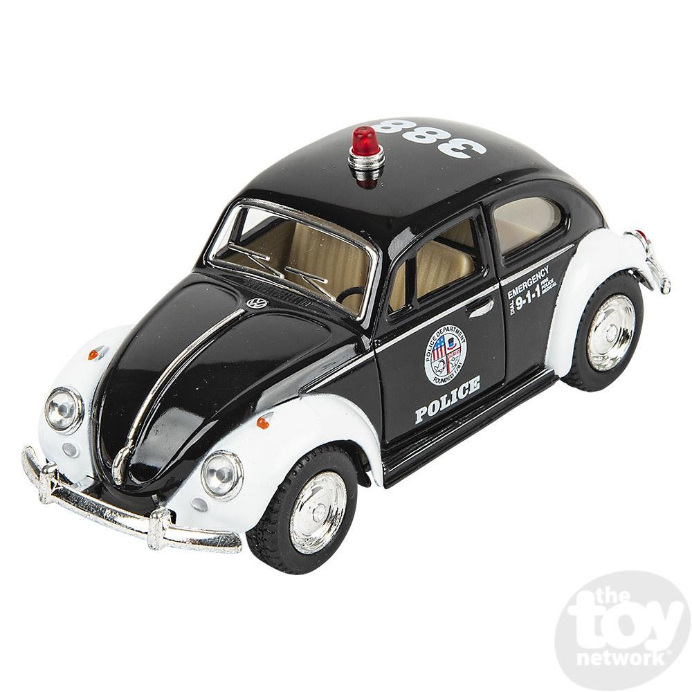 "5"" 1967 Volkswagon Beetle Police Car"