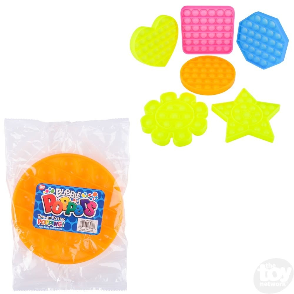 "5"" Neon Bubble Poppers"