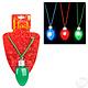 "28"" Light-up Christmas Bulb Necklace"