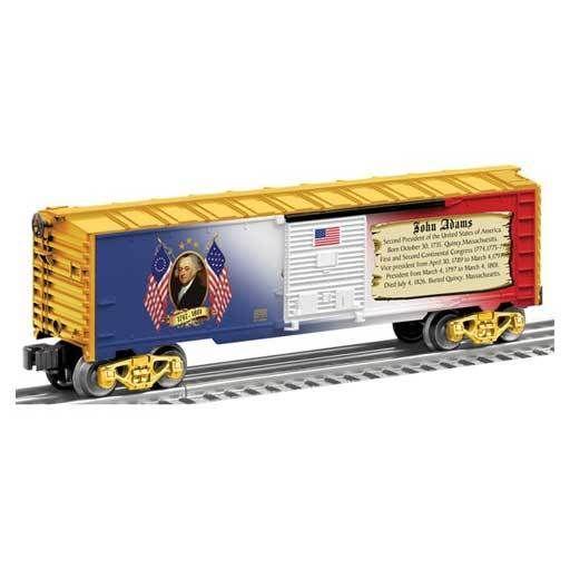 Lionel 625930 - BOXCAR PRES. JOHN ADAMS