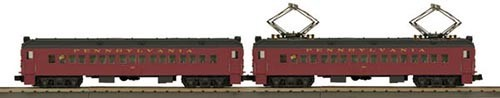 MTH - RailKing 30201743	 - 	MU PRR 2 CAR PASSENGER NON