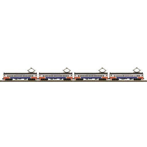 MTH - RailKing 30201751 - SEPTA 4-Car MU Passenger Set w/Proto-Sound 3.0