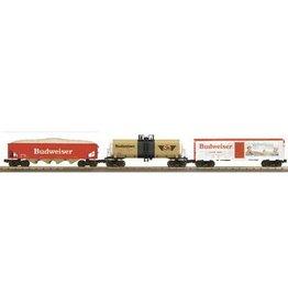 MTH - RailKing 30-7047 Budweiser 3 car Set