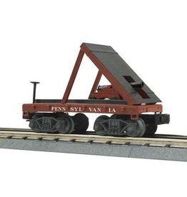 MTH - RailKing 3076386 - Flat Car - 19th Century W/Canno