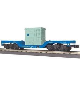 MTH - RailKing 3076509 - FLAT CAR CONRAIL W/TRANSFORMER