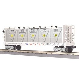 MTH - RailKing 3076565	 - 	FLAT CAR NASA W/BULK & LCL